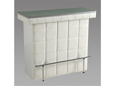 cuisine entrepot du bricolage meuble de bar cardy simili verre trempé blanc ou noir