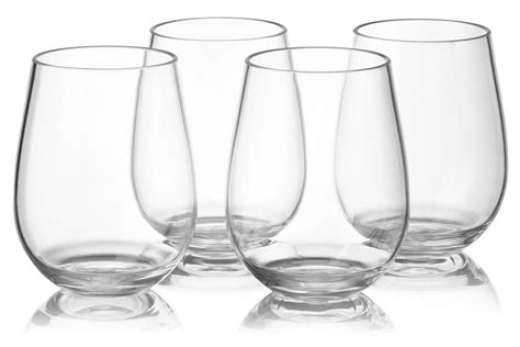 Notmog 24 Stemless Glasses Wholesale Set Unbreakable