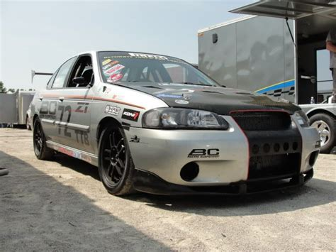 nissan sentra race car custom valved springs bc racing coilovers ser rates