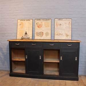 Mobilier Industriel Ancien : ancien meuble d 39 usine en bois ~ Teatrodelosmanantiales.com Idées de Décoration