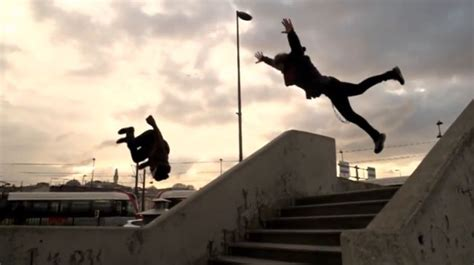 epic parkour freerunning