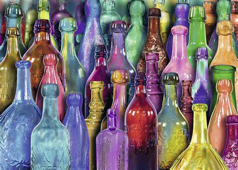 colorful bottles jigsaw puzzle puzzlewarehousecom