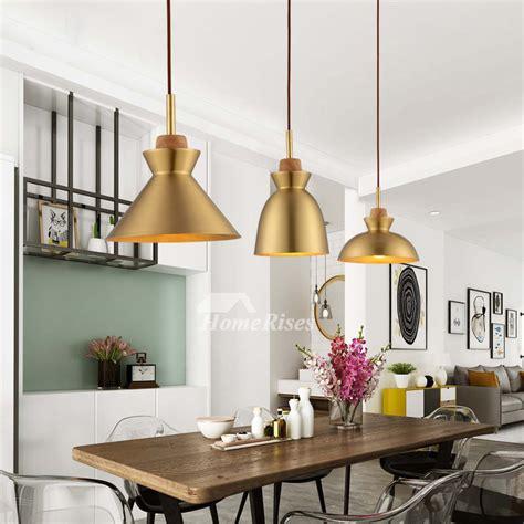 brass pendant light hanging  living room fixture luxury