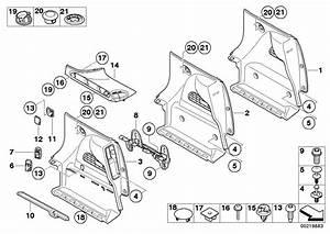 Mini R55 Lci  Clubman  Cooper Sd  Ece  Vehicle Trim  Mounting