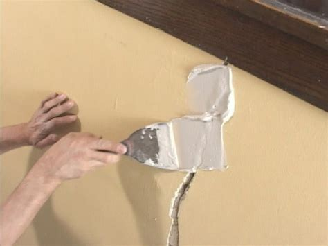 filling hairline cracks in ceiling diy wall ideas projects diy