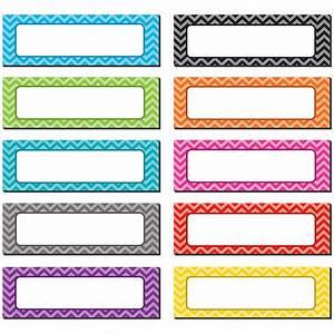 Chevron Labels Magnetic Accents - TCR77204 Teacher