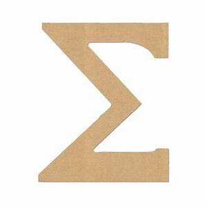 Diverse woodworking 7023 sigma 6 6quot letter quotsigmaquot greek for Buy wooden greek letters