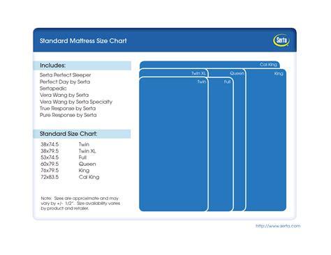 standard size mattress standard mattress size chart images for the home