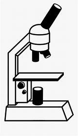 Microscope Microscopio Coloring Para Colorear Dibujo Clipart Clipartkey sketch template