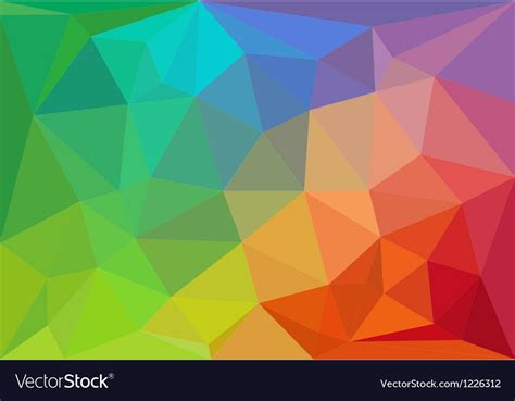 Colorful geometric background Royalty Free Vector Image