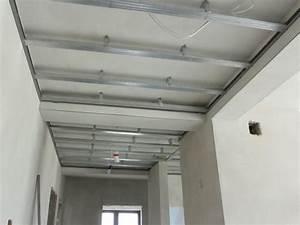 Pose D Un Faux Plafond En Ba13 : cloison plafond leroy merlin ~ Melissatoandfro.com Idées de Décoration