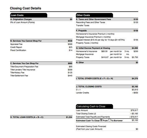 quick guide   loan estimate  mortgage