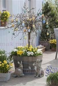 Aussen Hauswand Deko : mit primeln k bel bepflanzen gef duo mit birkenzweige knoten tischdeko pinterest ~ Sanjose-hotels-ca.com Haus und Dekorationen