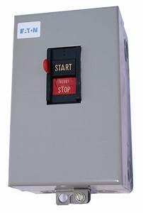 Eaton Push Button Manual Motor Starter  Enclosure Nema