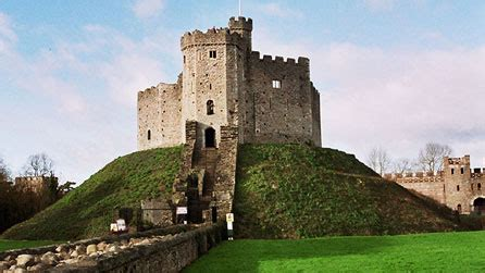 bbc wales history themes castles motte  bailey