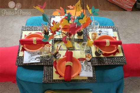 top  thanksgiving kid tables frog prince paperie