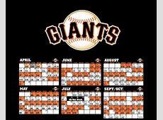 Sf Giants Calendar Schedule 2019 Calendarios Hd