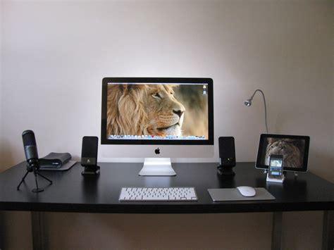 iMac Ikea desk