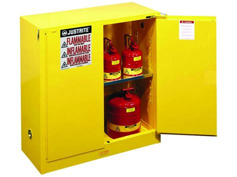 gas can storage cabinet flammable storage cabinet self closing doors 30 gallons