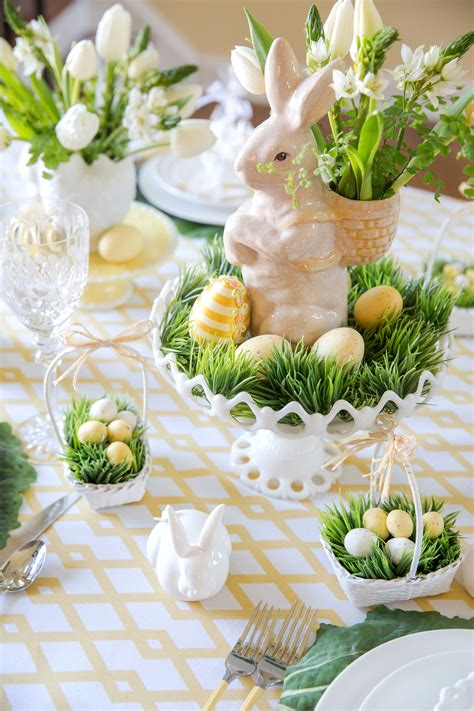 easter decorations ideas easter table decorations place setting ideas pizzazzerie