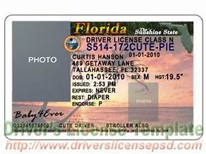 8 drivers license template psd images california drivers for Florida drivers license template