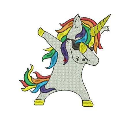 unicorn design machine embroidery
