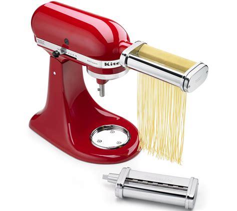 kitchenaid  piece pasta cutter set attachment qvccom