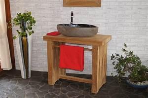 Waschtischunterschrank Selber Bauen : waschbecken mit unterschrank holz ~ Lizthompson.info Haus und Dekorationen