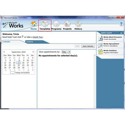 microsoft works word processor free resume templates microsoft works invoice template hardhost info