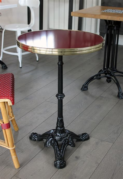 Table De Bistrot Table De Bistrot Ronde 233 Maill 233 E Gu 233 Ridon 233 Maill 233