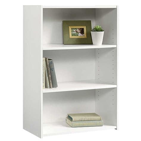 Sauder Bookcase White by Sauder Beginnings Collection 35 In 3 Shelf Bookcase In