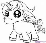 Unicorn Cartoon Coloring Printable Pages Popular sketch template