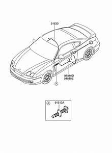 2003 Hyundai Tiburon Miscellaneous Wiring