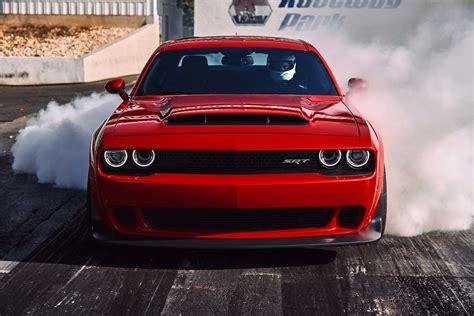 2018 Dodge Challenger Srt Demon Front End Burnout Motor