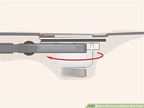 remove drain from sink how to remove a kitchen sink drain 13 steps with pictures
