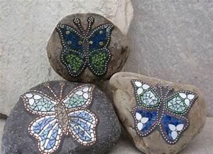 Mosaik Basteln Ideen : mosaik basteln stein mosaik im garten sonta berry ~ Lizthompson.info Haus und Dekorationen