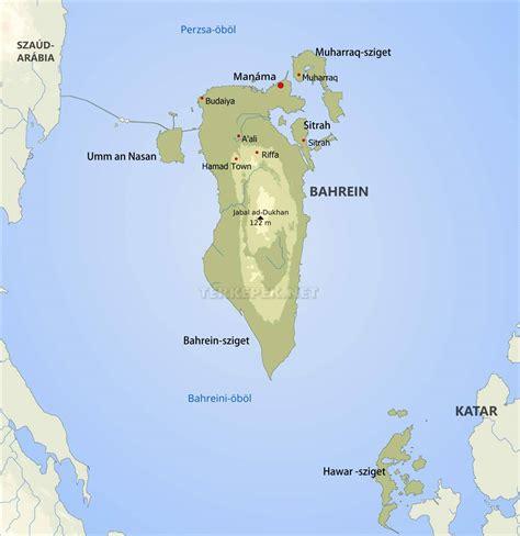 Bahrein térképek