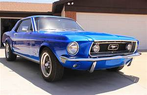 1968 68 Ford Mustang Coupe 347/420Hp Blue Custom/Hot Rod - Classic Ford Mustang 1968 for sale