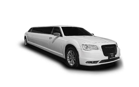 Birthday Limousine by 10 Passenger Stretch Limousines Silver White Access