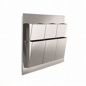 interior wall mounted magazine rack wall literature With wall mounted document display
