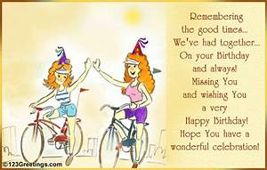 Free For Best Friends ECards Happy Birthday