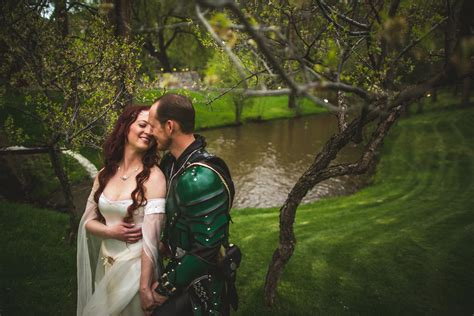bobby s lord of the rings meets of thrones wedding offbeat