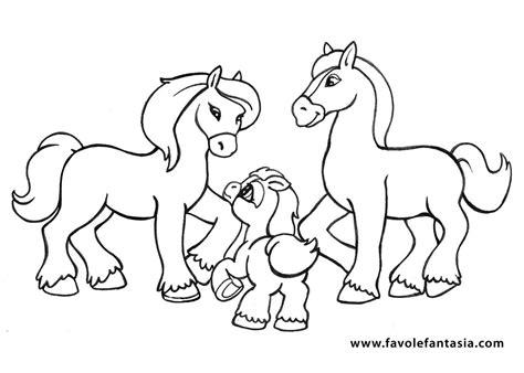 immagini di cavalli da colorare per bambini disegno da colorare per bambini il cavallo disegni