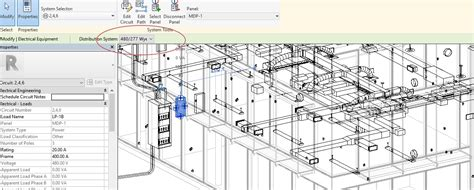 Electrical Plan Revit by Setting Up A Electrical Distribution In Revit