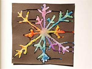 Malen Mit Kindern : salzmalerei bunte eiskristalle aus salz montiminis ~ Orissabook.com Haus und Dekorationen