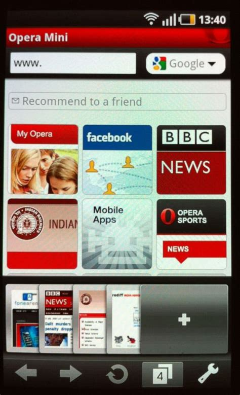 mini opera for android opera mini for android mobile updates
