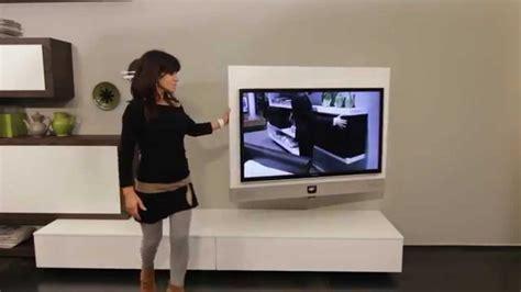 mobile porta tv rack evo il primo porta tv orientabile