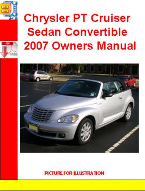 online car repair manuals free 2007 chrysler pt cruiser electronic throttle control chrysler pt cruiser sedan convertible 2007 owners manual download