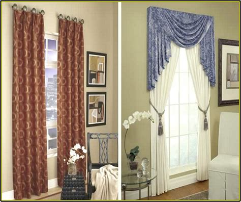 drapes  bay window home design  home design ideas