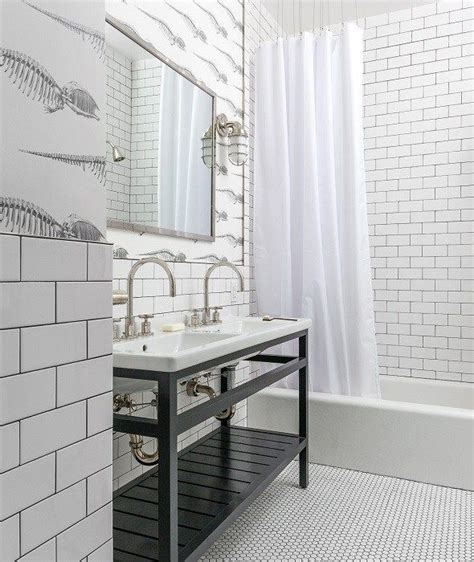 White And Black Tiles For Bathroom by Black And White Bathroom Bathrooms White